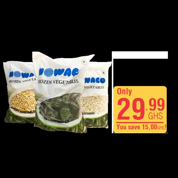 Nowaco Spinach / Cauliflour  /Sweet Corn 2.5k